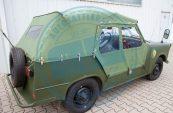 Trabant-Kübel-Verdeck NVA-Grün