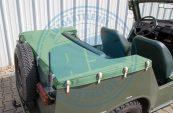 Verdeckhülle Trabant Kübel Verdeckstoff NVA-Grün