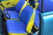 Trabant Cabrio Sitzbezüge Kunstleder