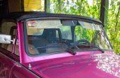 Trabant Cabrio Verdeckleiste vorn